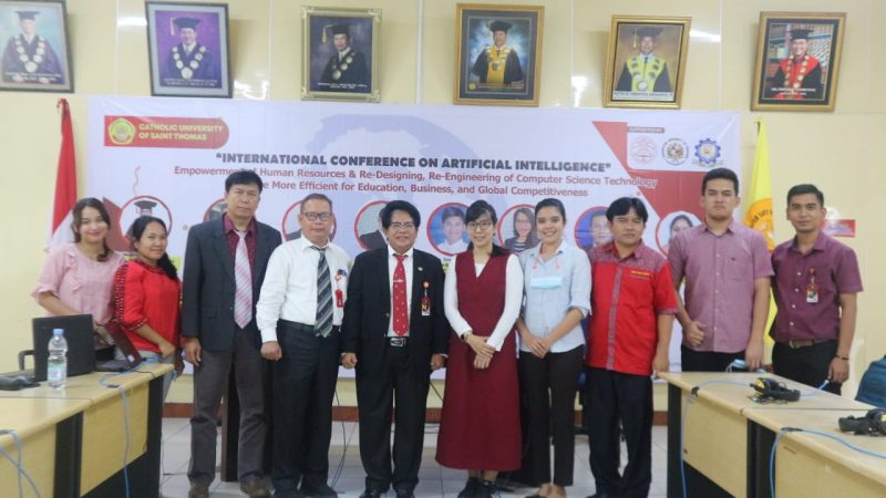 INTERNATIONAL CONFERENCE UNIKA DGN NARASUMBER DARI THAILAND, PHILIPPINA DAN INDIA