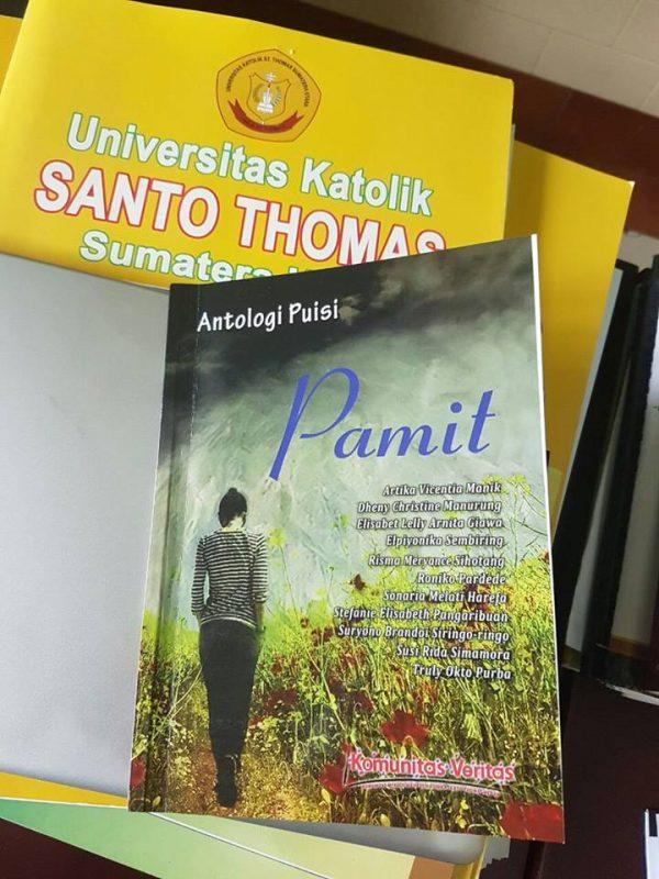 """Undangan Peluncuran Buku Antologi Puisi """"PAMIT"""""""